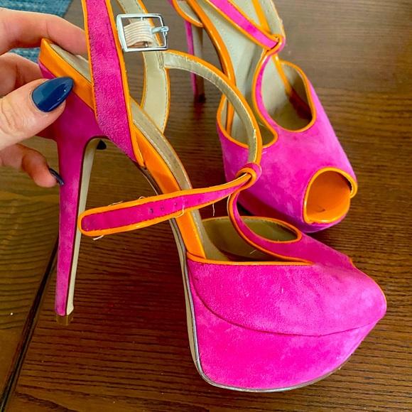 Bright Aldo High heels
